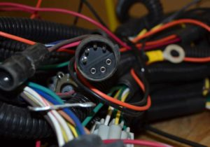 Bundle of wires for snow plow electrical connections Patrick's Mobile