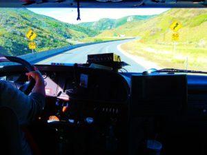 truck driver wheel