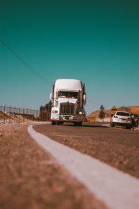 truck driver truck